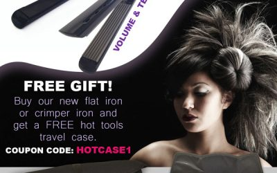 Free Hot Tools Case with Iron Purchase