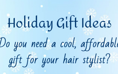 Cool, affordable gifts for your hair stylist!